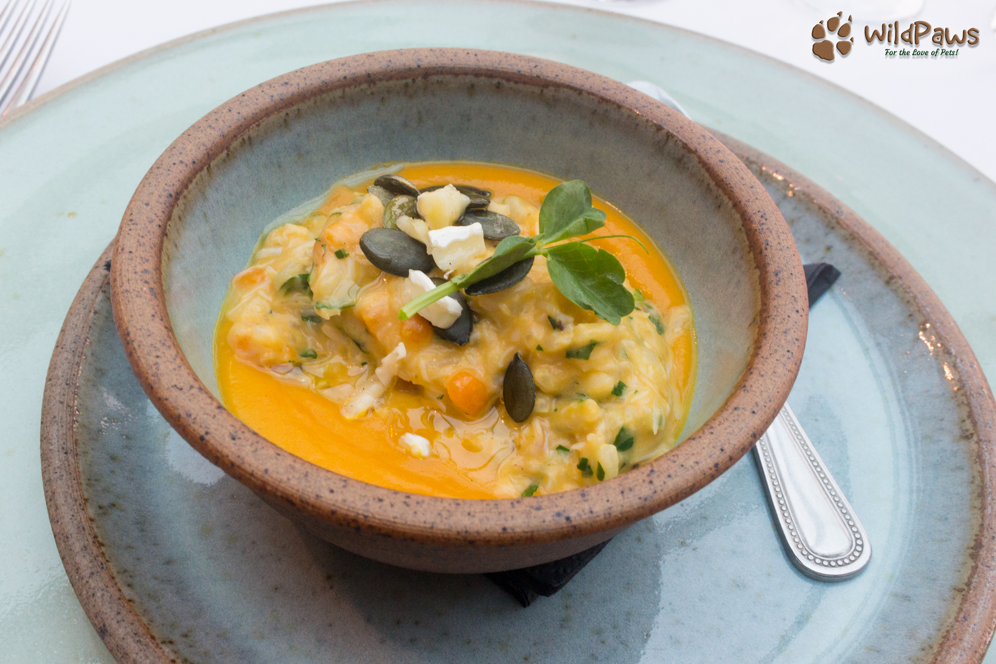Whitby Crab Risotto at the Ox Pasture Hall Hotel