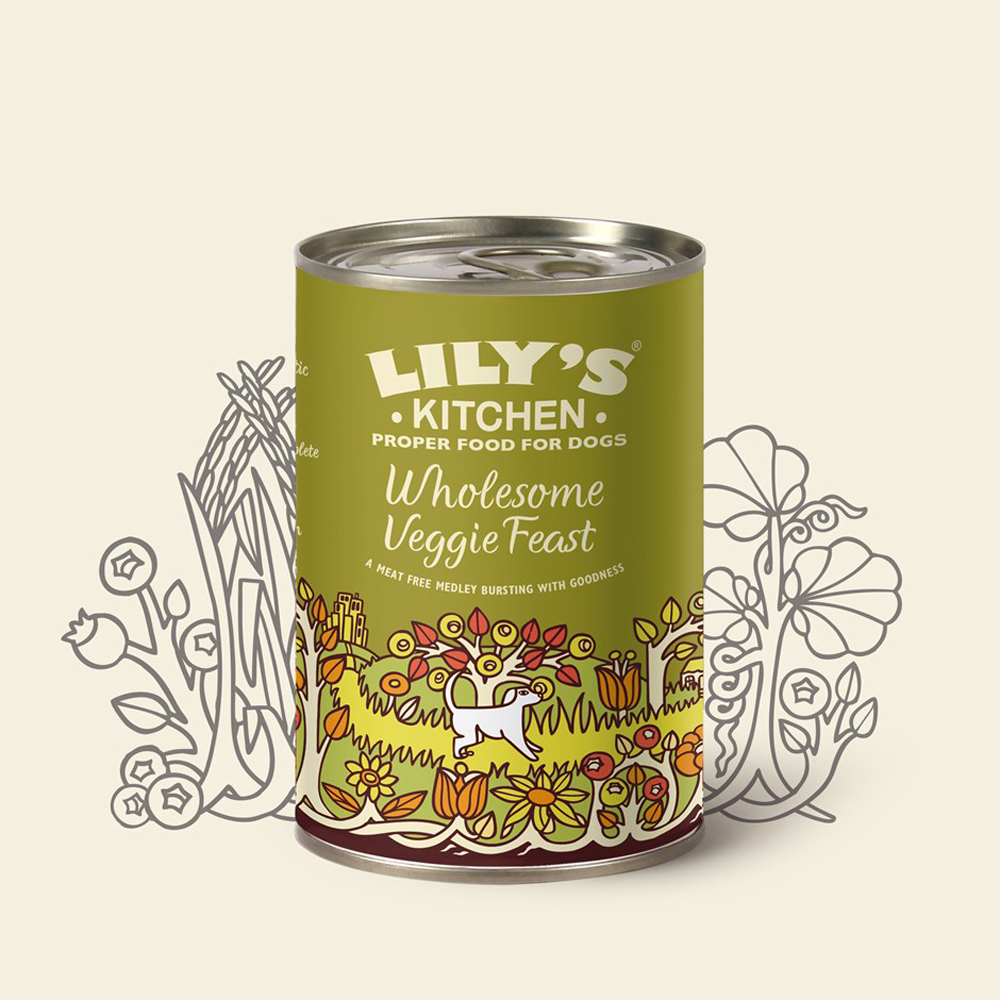 Lily's Kitchen Wholesome Veggie Feast