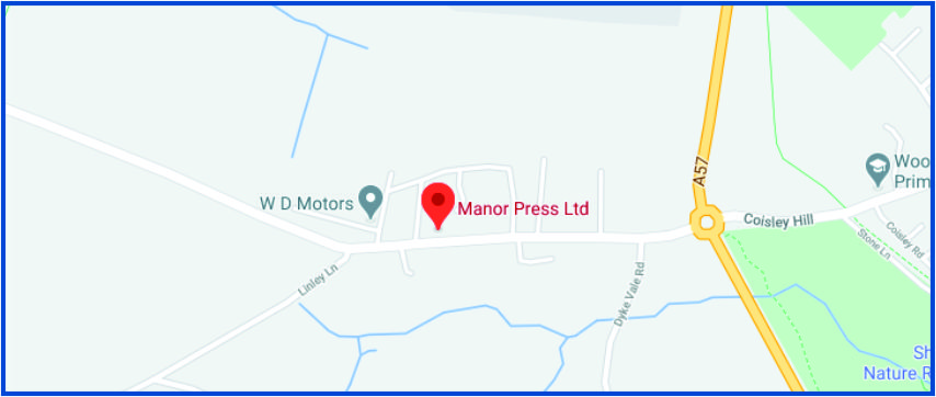 Manor Press Ltd Google Maps