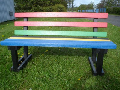 Park Seat Olympic Colours
