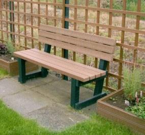 Brown Park Seat