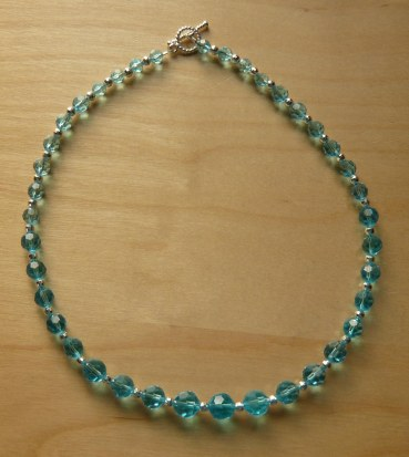 Turqusoise crystal necklace