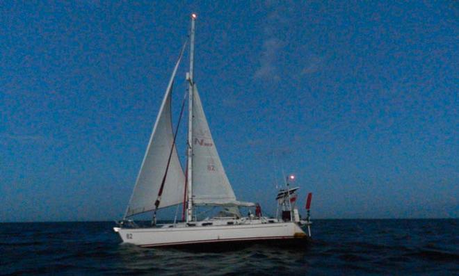 sailing solo around the world