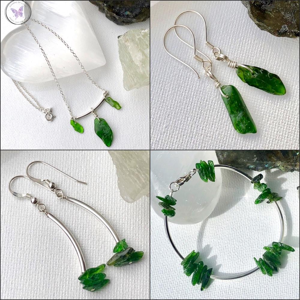 Healing Diopside Jewellery