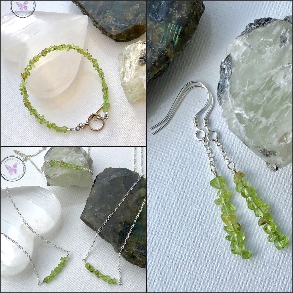 Healing Peridot Jewellery