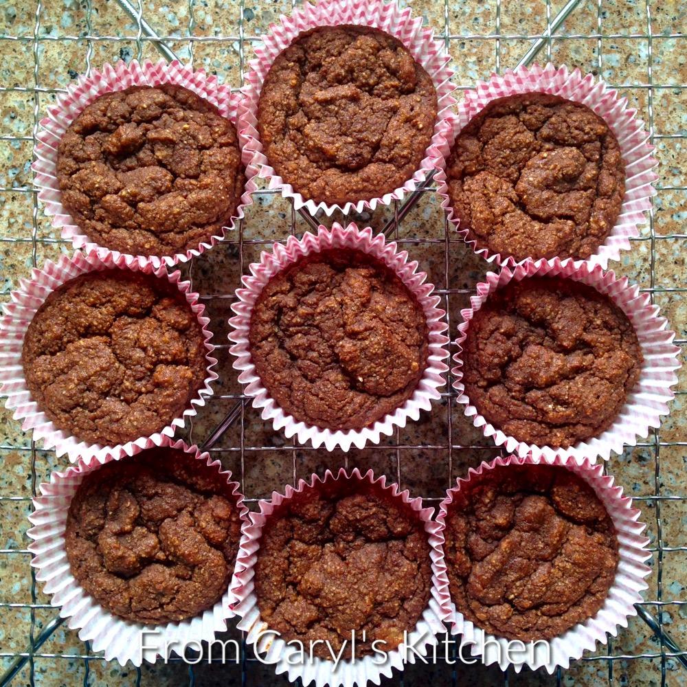 Vegan Chocolate Banana GF Muffins