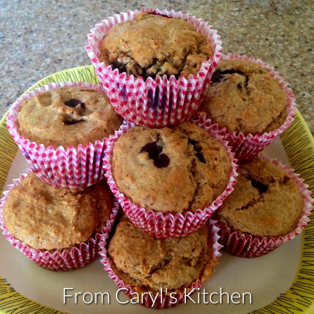 Vegan Aquafaba Blueberry Muffins