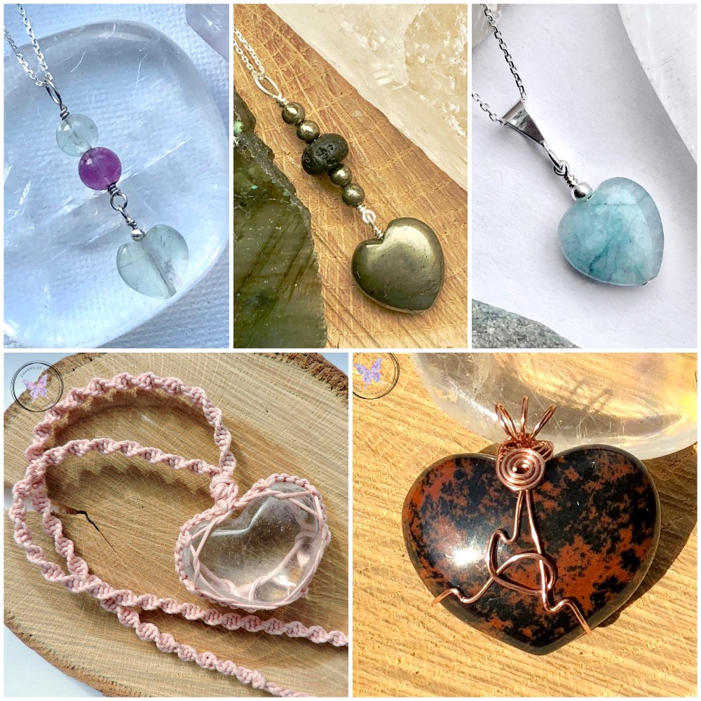 Heart Pendants & Heart Necklaces