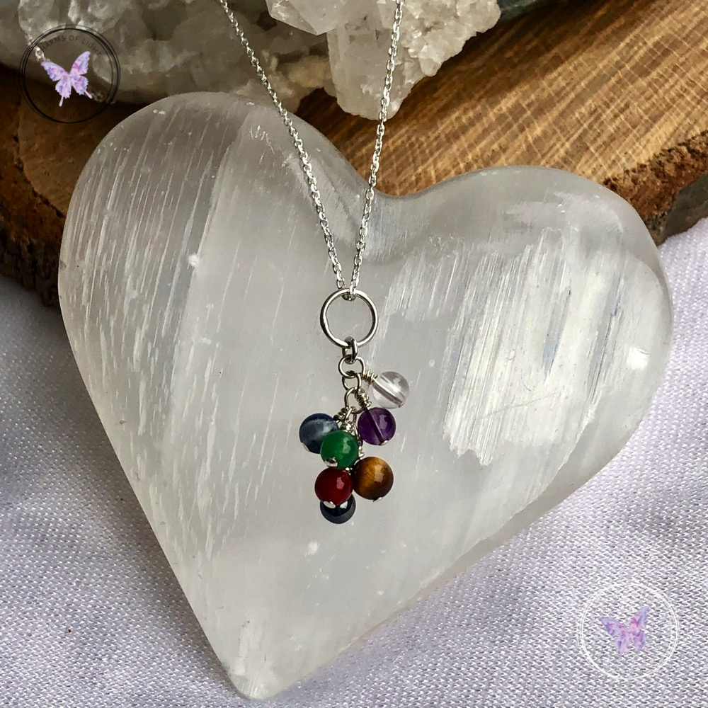 Chakra Cluster Necklace