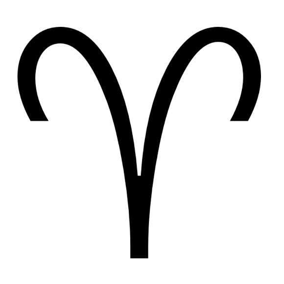 Zodiac symbol for Aries