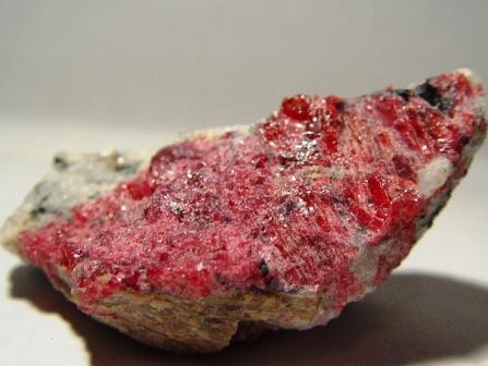 Healing Almandine or Eudialite rough crystal