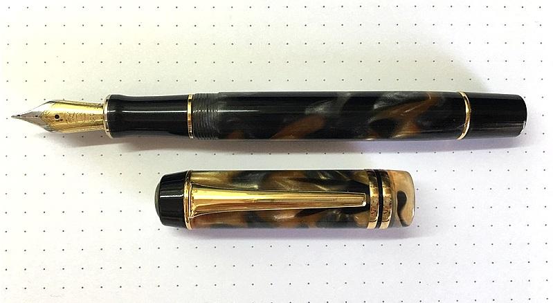 Kaigelu 316 fountain pen with a Bock 250 size 6 bi-coloured nib - Image courtesy of Dr Photios Zervas