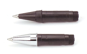 Our refillable rollerball nibs are used with an ink cartridge or ink converter, just like a fountain pen