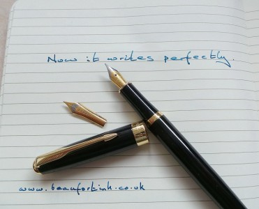 It's easy to upgrade a Baoer 388 nib. A Bock size 5 and a Beaufort size 5 are both perfect fits