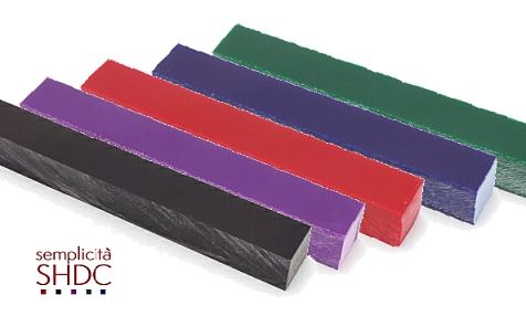 Semplicita SHDC acrylic pen blanks are currently available in 5 different colours
