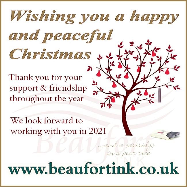 Happy Christmas from Beaufort Ink